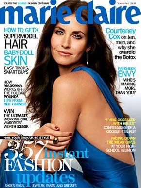 Courteney Cox | Marie Claire