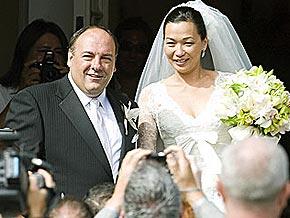 James Gandolfini e Deborah Lin