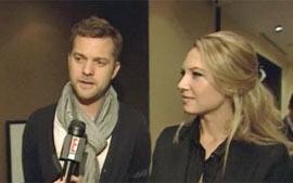 Joshua Jackson e Anna Torv