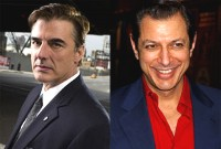 Chris Noth e Jeff Goldblum
