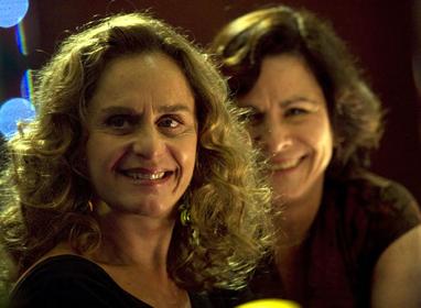 Regina Braga e Denise Weinberg