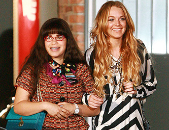 "Lindsay Lohan em ""Ugly Betty"""