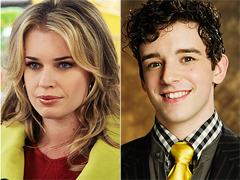 Rebecca Romijn (Alexis Meade) e Michael Urie (Marc St. James)